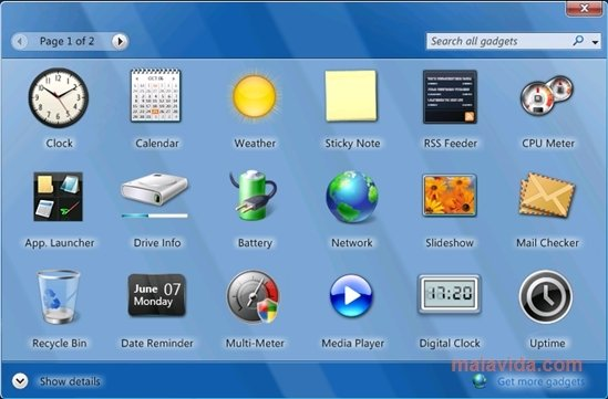 rainbar windows 7