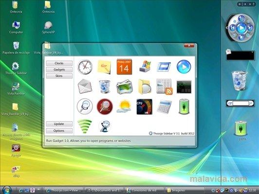 Download Vista Sidebar 3 1 Free