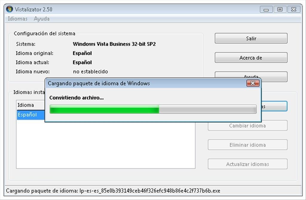 vistalizator para windows 7