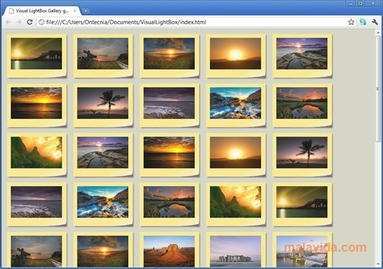 Visual LightBox Free 6 1 - Download for PC Free