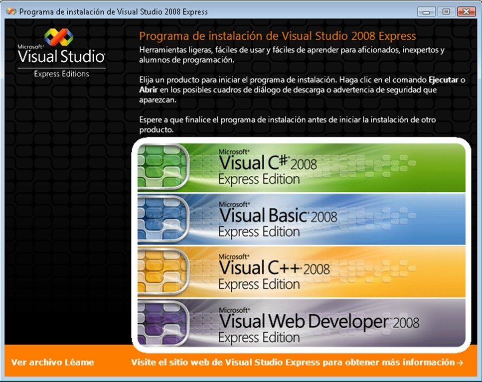 Visual Studio 2008 image 5