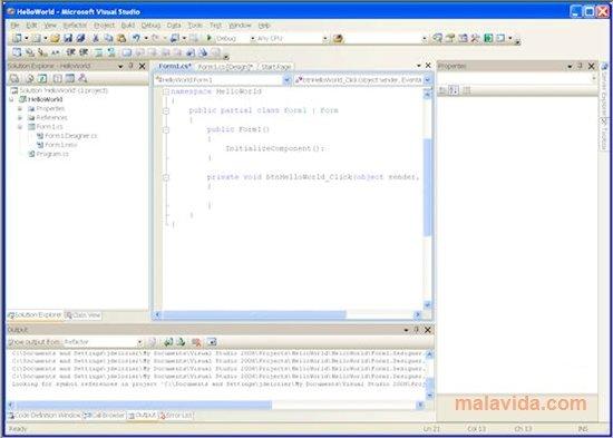 Visual Studio 2008 SP1 image 4