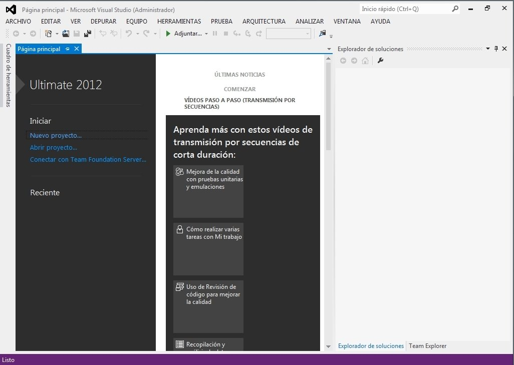 Visual Studio 2012 image 5