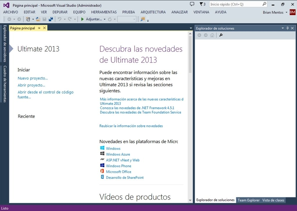 Visual Studio 2013 image 5