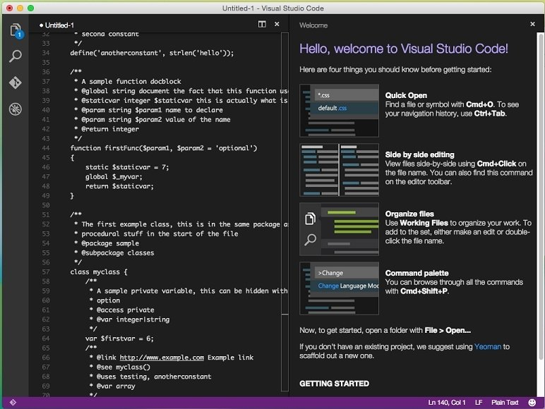 Visual Studio Code Mac image 4