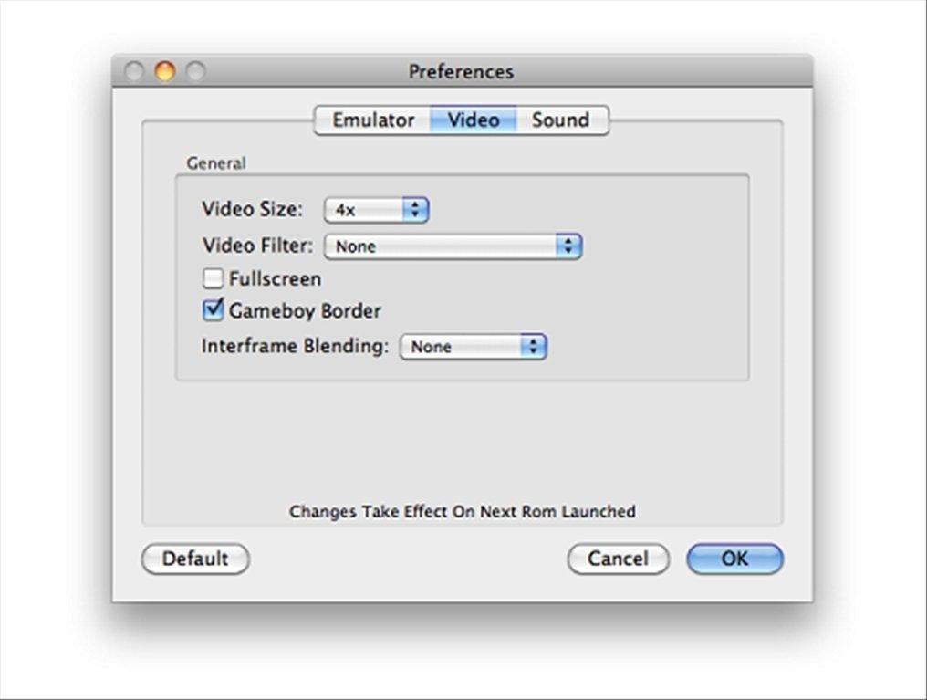como descargar visual boy advance para mac
