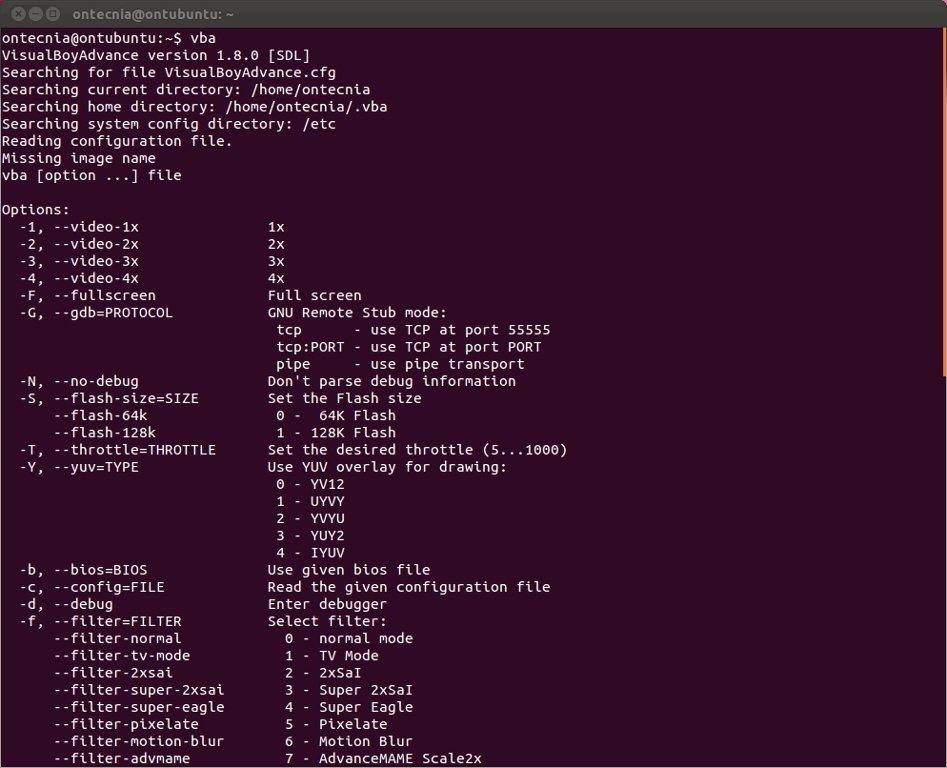 VisualBoyAdvance Linux image 3
