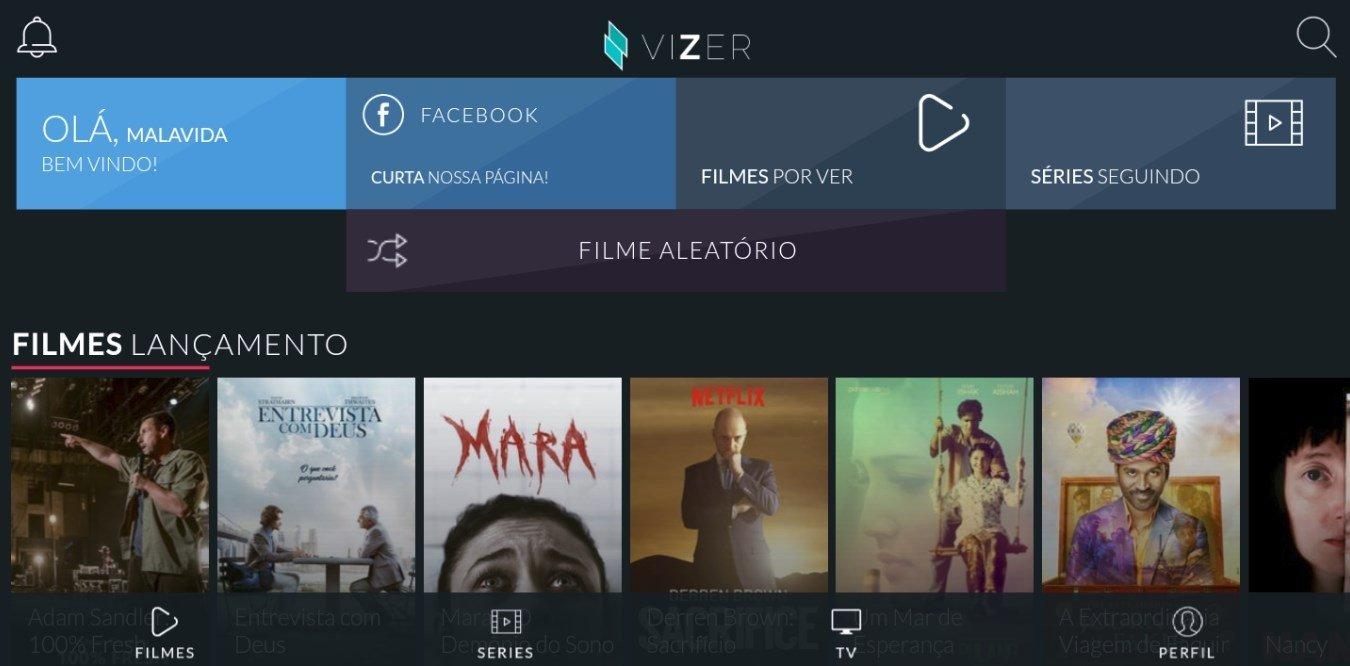 Vizer TV 2.8 - Baixar para Android APK Grátis