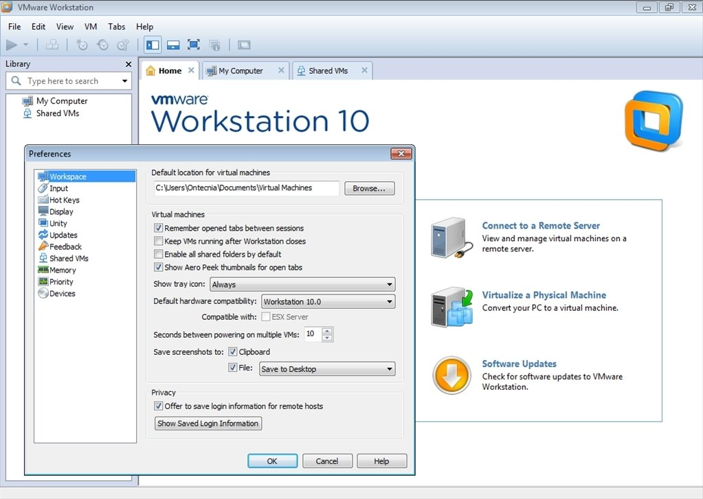 VMware Workstation 11.1.0