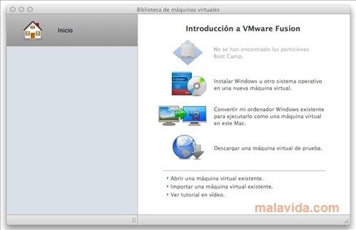 Specification: VMware Fusion 11.0.2: