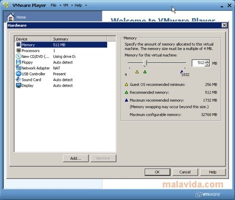 VMware Player 7.1.0-2496824