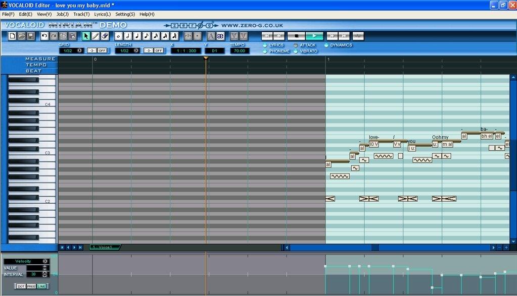 Vocaloid 1.0.5.2