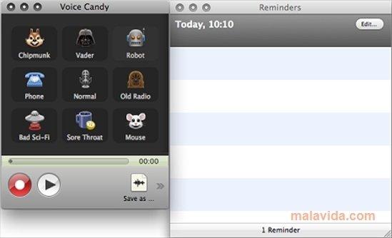 Descargar Voice Candy 1 5 1 Mac Gratis