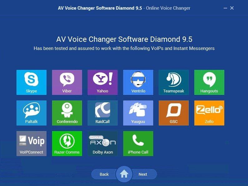 TÉLÉCHARGER AV VOICE CHANGER SOFTWARE DIAMOND 7.0.29