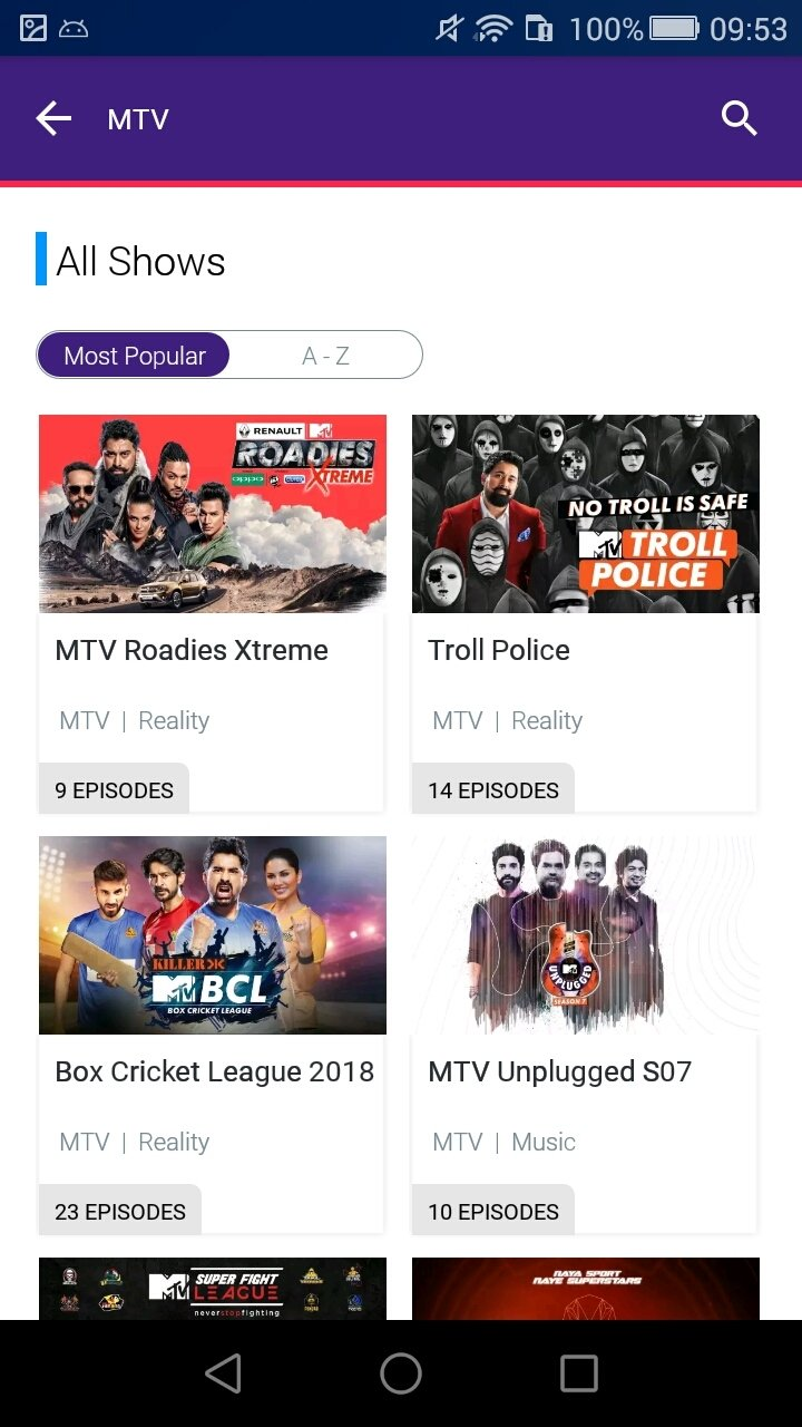 Voot TV 2 1 71 - Download for Android APK Free