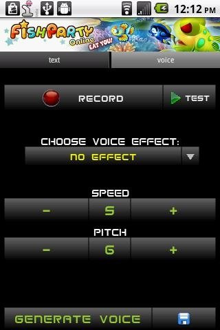 Robot Voice Changer Android image 4
