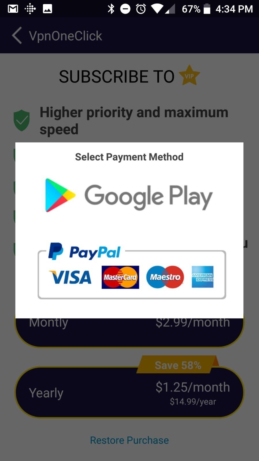 vpn free download google play