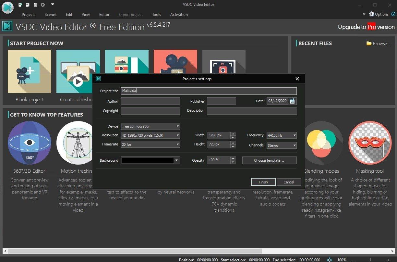 VSDC Video Editor Pro 6.3.3.968 - Karan PC - download free ...