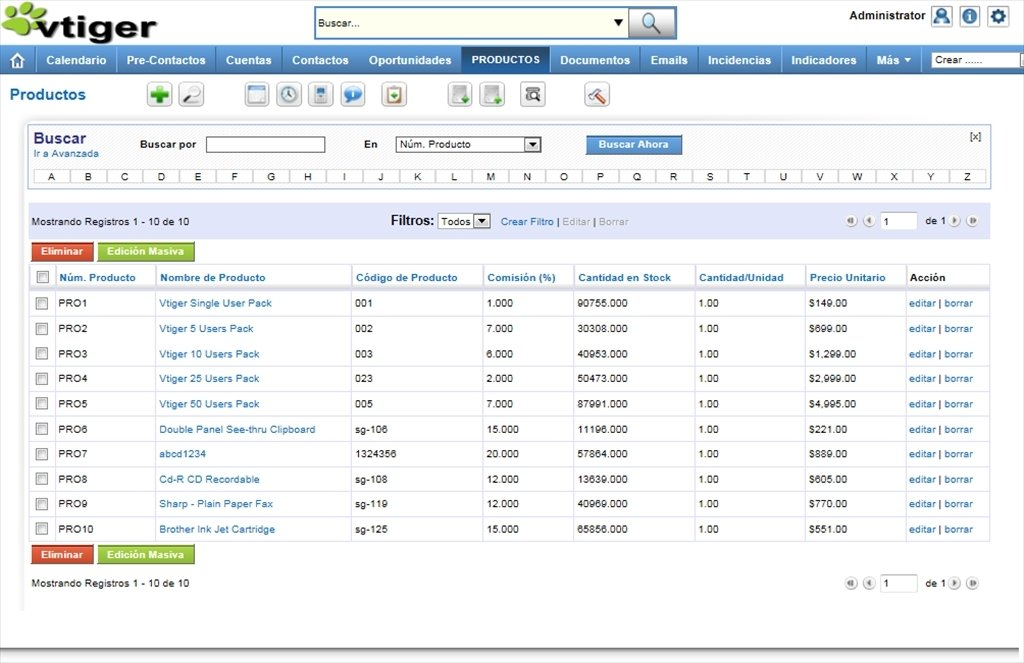 vtiger CRM 7 1 0 - Download for PC Free