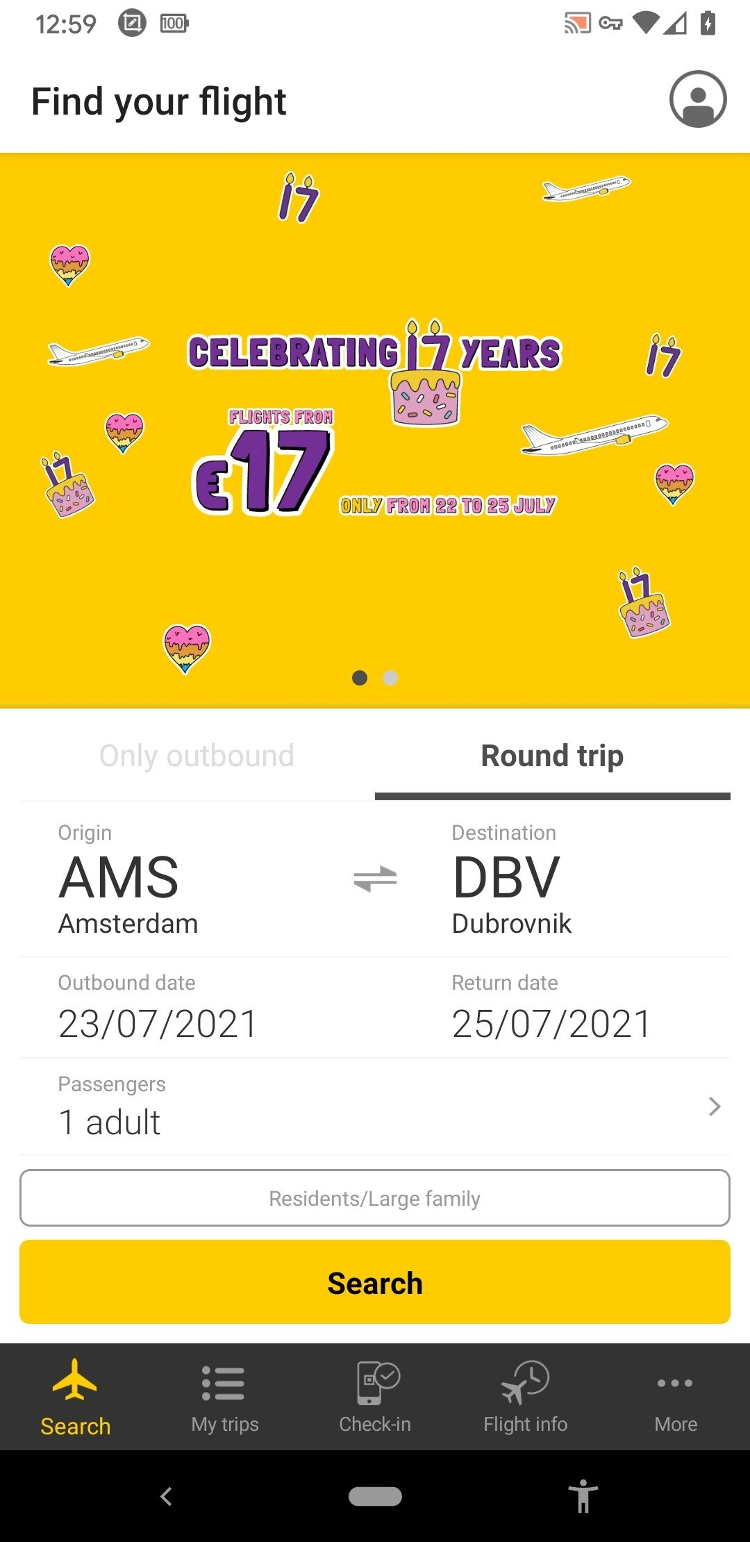 Vueling Airlines Android image 5