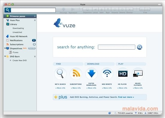 Vuze Mac image 4