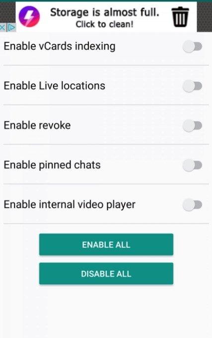 WA Tweaker Android