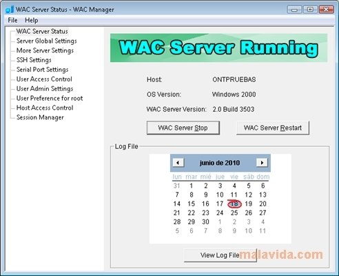 WAC Server image 4