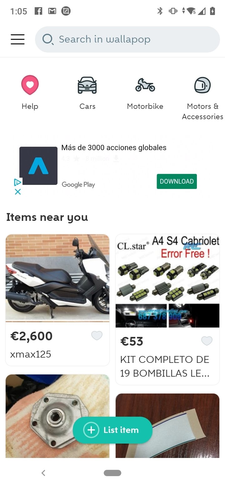 Wallapop Android image 4