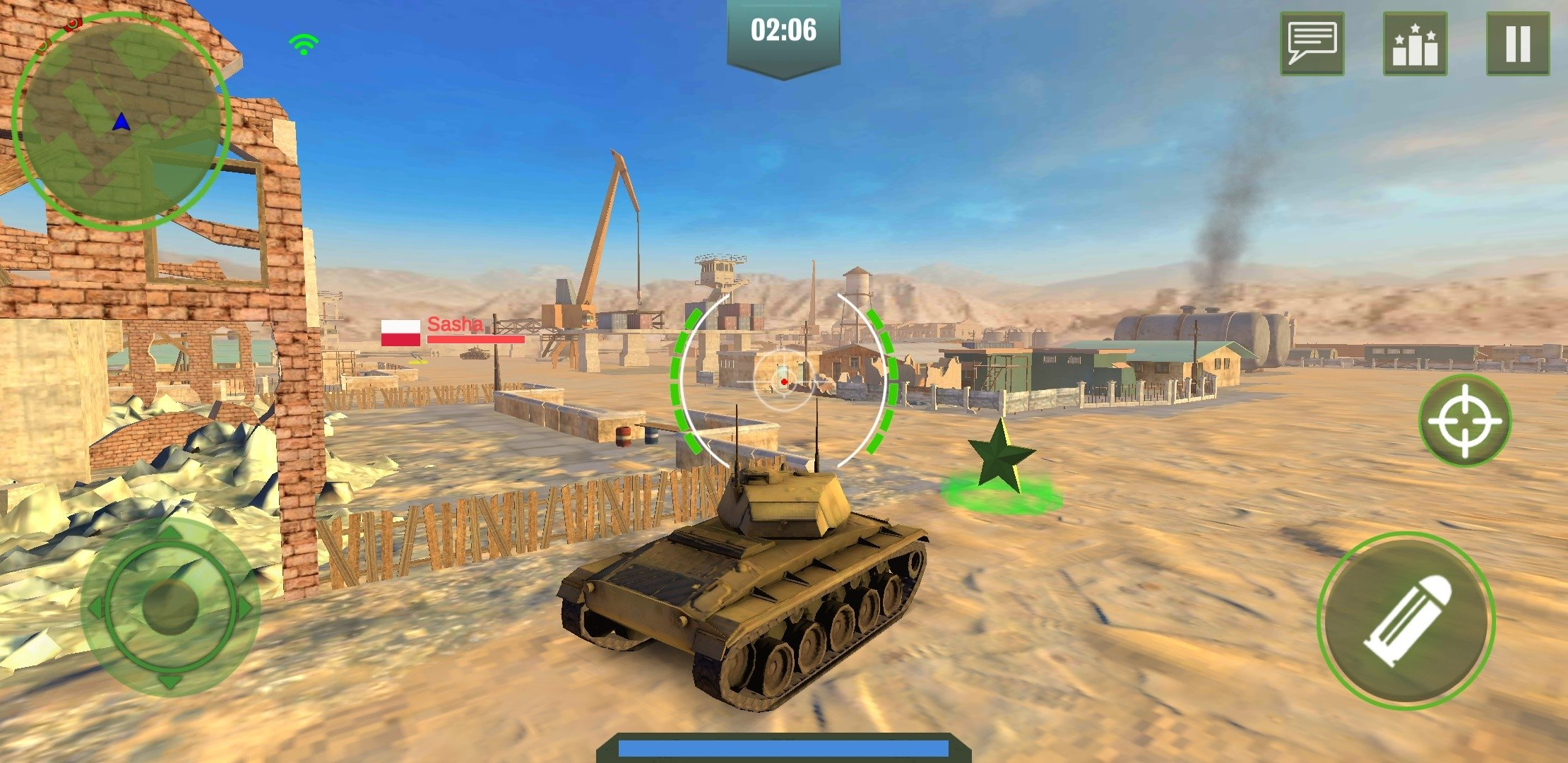 War Machines Tank Shooter Game Android image 8