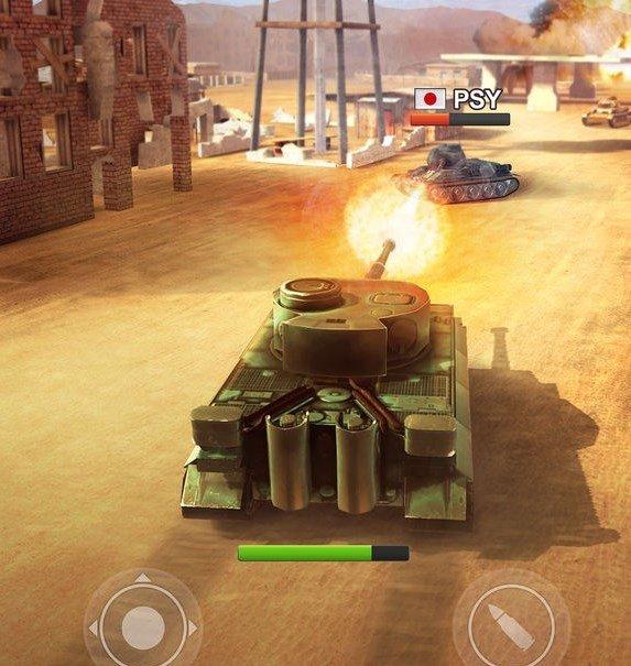 War Machines Tank Shooter Game iPhone image 5
