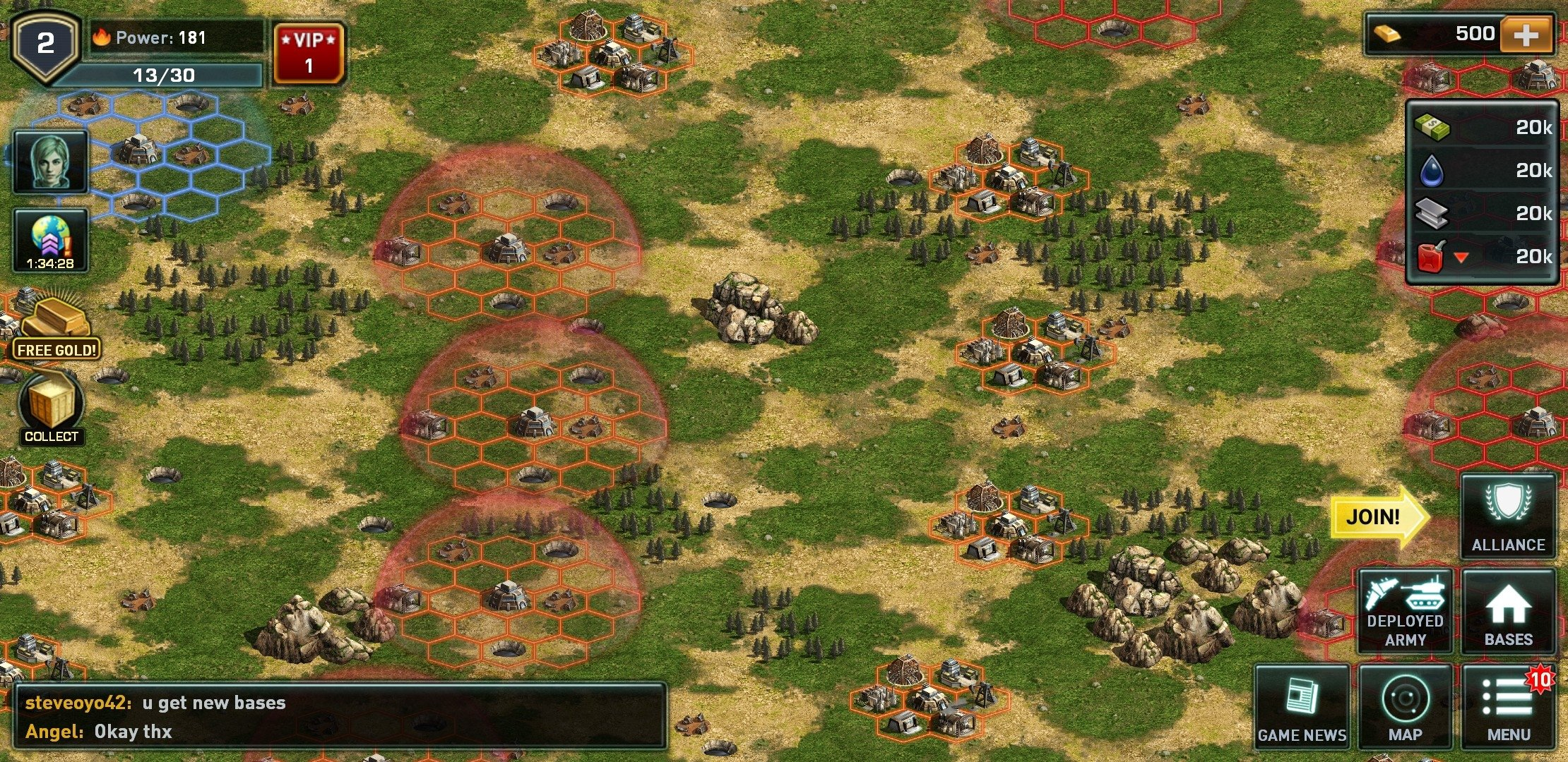 War of Nations Android image 5
