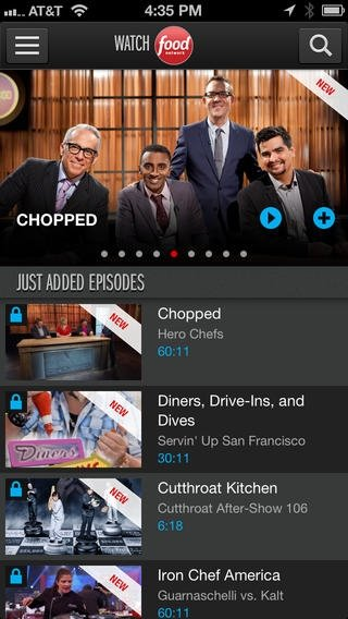 Watch Food Network iPhone image 5