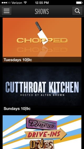 Watch Food Network - Download for iPhone Free