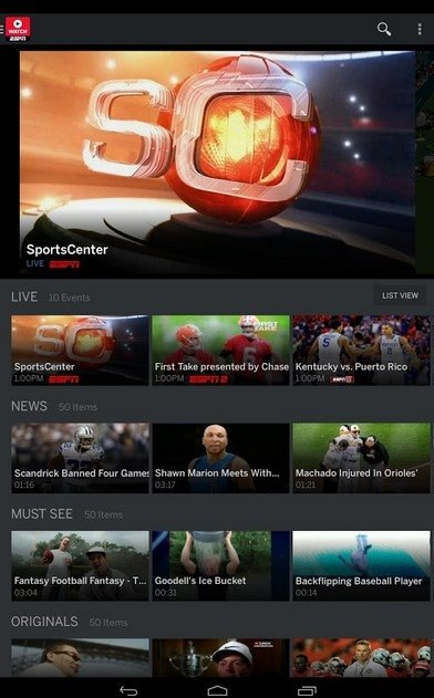 WatchESPN 2 5 1 - Download for Android APK Free