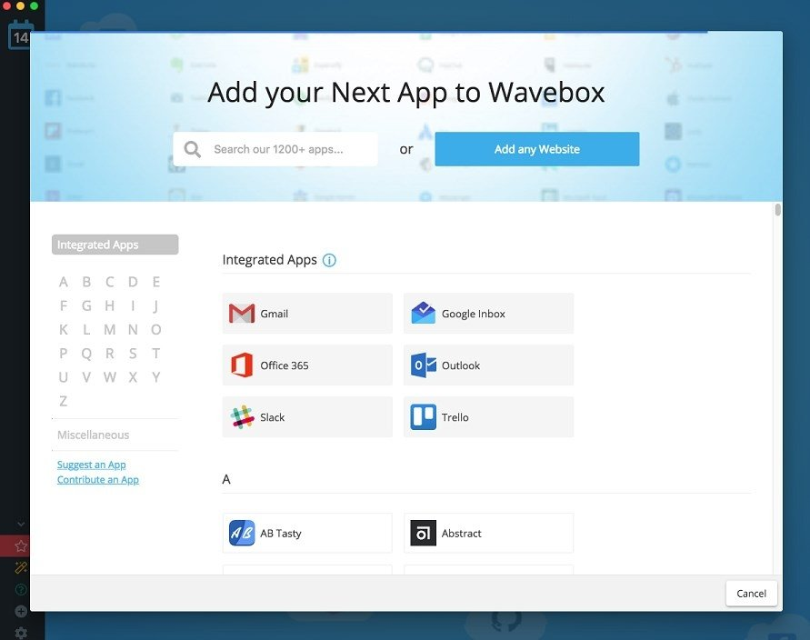 Wavebox 4 10 1 - Download for Mac Free
