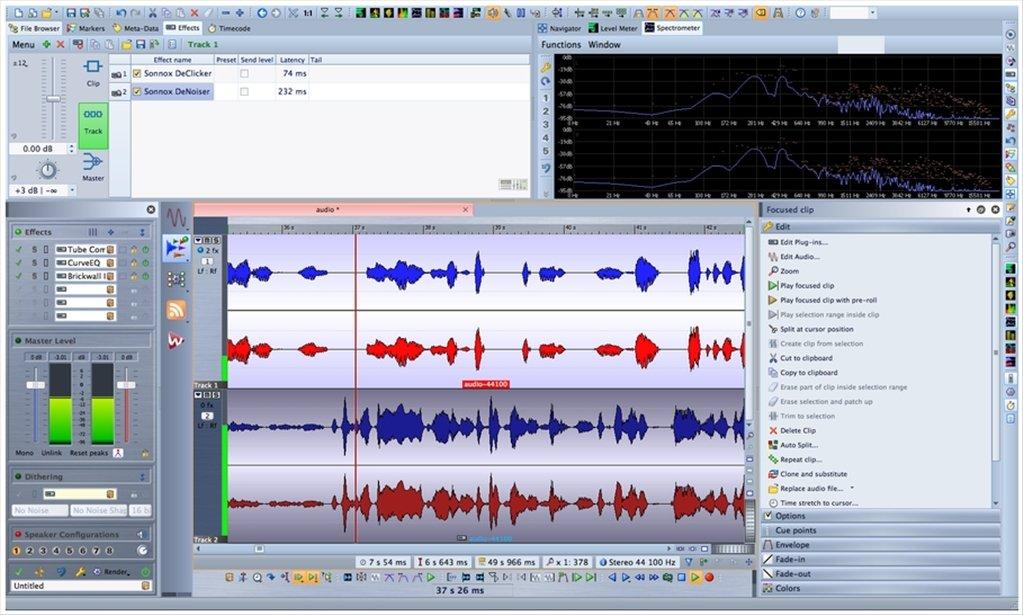 logiciel gratuit wavelab