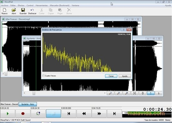 editeur de son wavepad gratuit