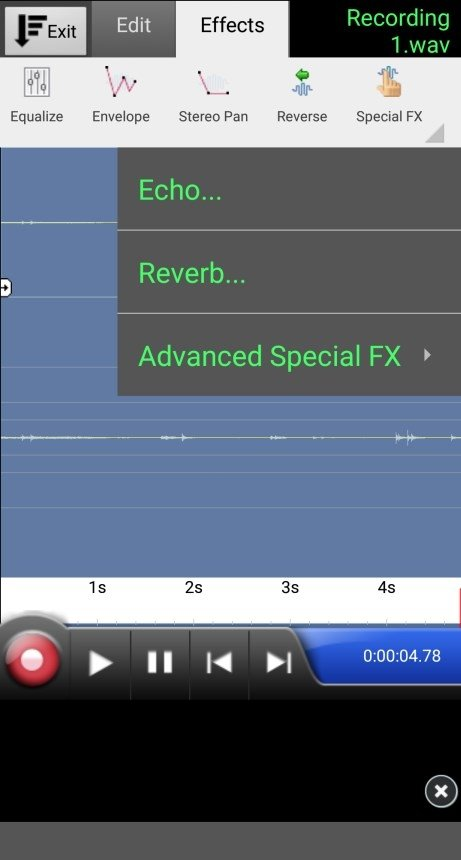 WavePad Audio Editor 6 52 - Download for Android APK Free