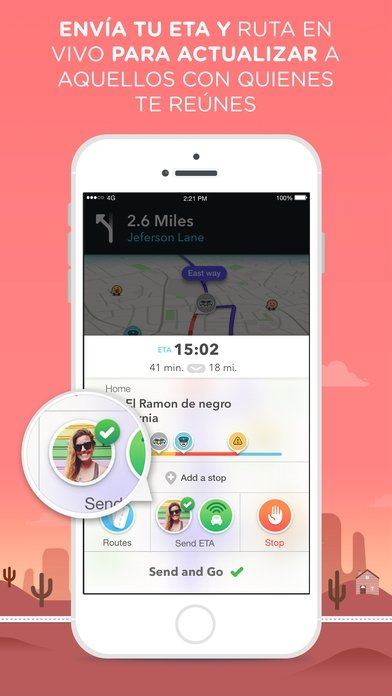 Waze - GPS Navigation, Maps & Social Traffic - Download for iPhone Free