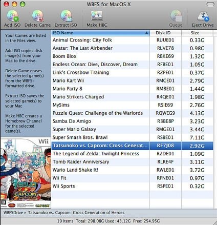 wii backup manager mac os