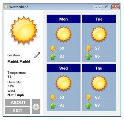 WeatherBar image 5