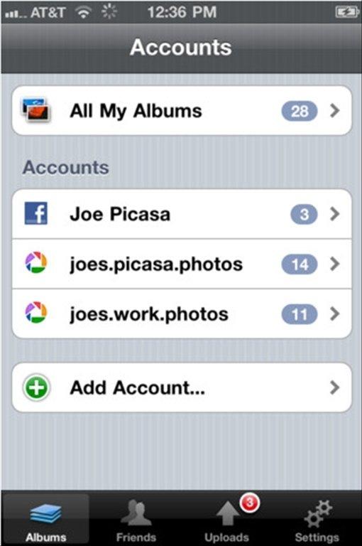Web Albums iPhone image 5