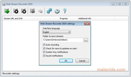 Web Stream Recorder image 4
