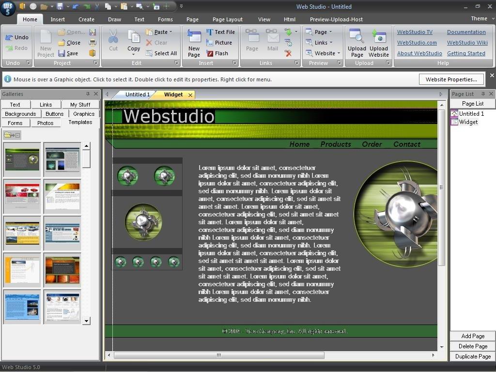 Web Studio  5.0 imagen 1