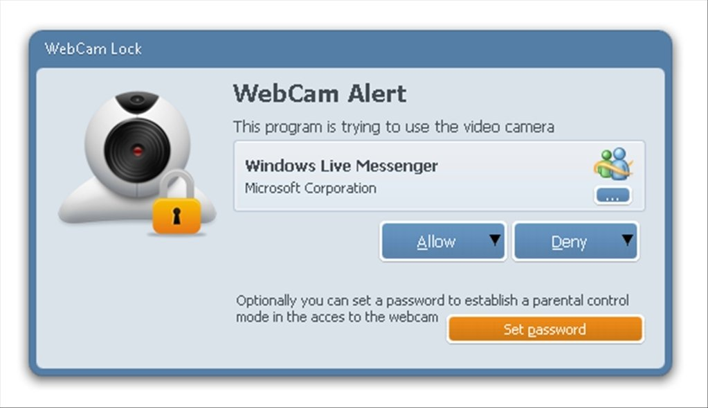 Webcam Lock 1 2 1 248 - Download for PC Free
