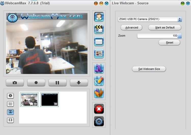 webcammax pour pc