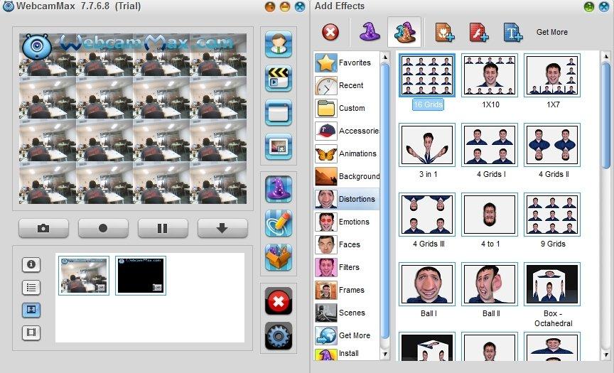 WINDOWS 7 TÉLÉCHARGER GRATUIT WEBCAMMAX POUR