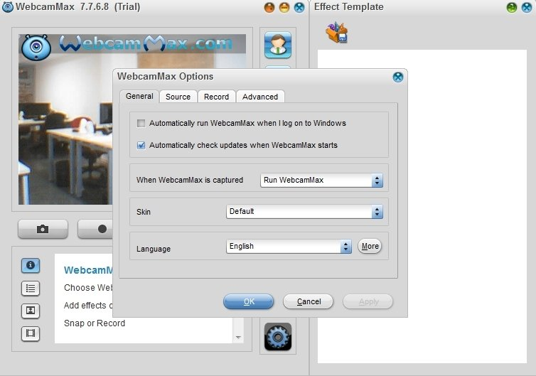 webcammax gratuit pour windows 7