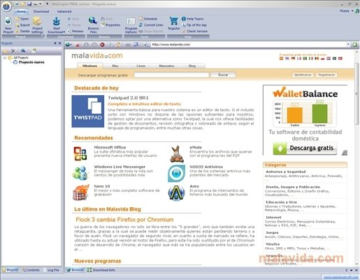 WebCopier image 5