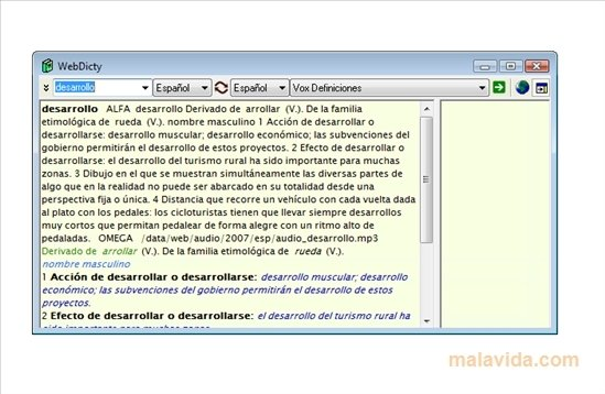 WebDicty image 4